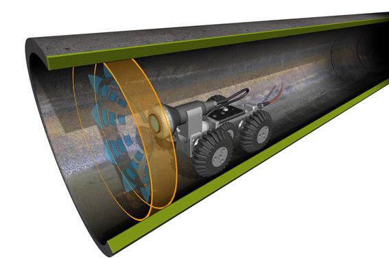 Ispezione Tubi Con Elevatissima Densit 224 Di Potenza